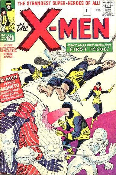 Portada del primer número de The X-Men (1963, Marvel)